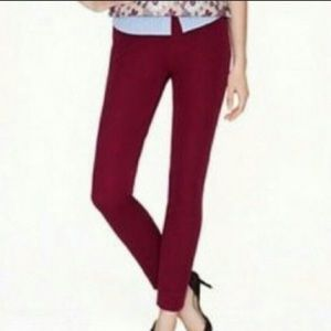 J. Crew Minnie Pant in Mulberry